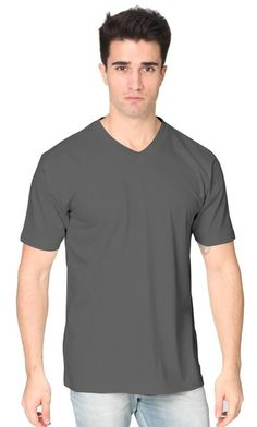 5055 Unisex Short Sleeve V-Neck
