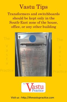 Transformers and switchboards should be kept only in the South-East zone of the house, office, or any other building. Indian House Plans, My House Plans, Feng Shui Tips For Wealth, Kitchen Vastu, Feng Shui And Vastu, Feng Shui Office, Feng Shui History, Indian Room, Vastu Shastra