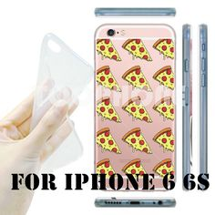 New Ultra Thin Delicious Famous Star Coffee Pizza Transparent Soft TPU Clear Phone Case Cover for Apple iPhone 6 6S Funda Coque-in Phone Bags & Cases from Phones & Telecommunications on Aliexpress.com | Alibaba Group