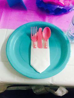 Frozen cutlery!!!