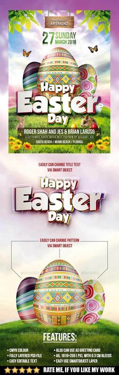 rabbet again this one is cool also derrick easter egg Pinterest - easter flyer template