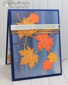 Stampin' Up! Colorful Seasons Autumn Greetings Card – Stamp With Amy K