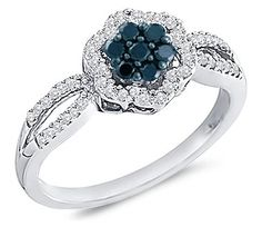Black Diamond Anniversary Ring 10k White Gold Womens (1/3 Carat), Size 8.5 Jewel Tie,http://www.amazon.com/dp/B005GIYLJM/ref=cm_sw_r_pi_dp_VY-dsb1J28X5N7D2