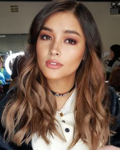 from - for her Birthday prod number Happy birthday Hopie~! Filipina Makeup, Filipina Beauty, Celebrity Hair Stylist, Celebrity Beauty, Top Makeup Artists, Mixed Girls, Most Beautiful Faces, Pretty Face, Asian Beauty