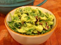 I love guacamole and when it's loaded with cucumber, it's extra great!