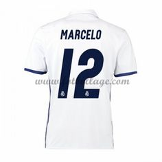 Fotbollströjor Real Madrid 2016-17 Marcelo 12 Hemmatröja