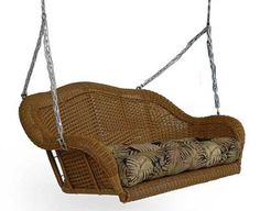 Olivia Porch Swing - Wicker... $495