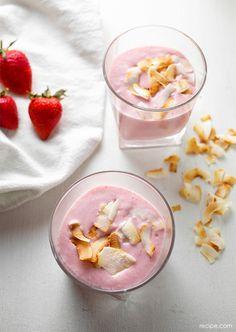 Coconut Strawberry Milk