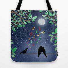 Moonlight Serenade by Tjc555 #totes #bags