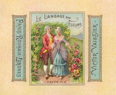 free victorian label | Gallery : Vintage French Soap Label, 1920'done in the 18th century's ...