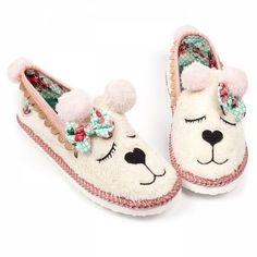 Sleepy Ted Slippers ❤ liked on Polyvore featuring shoes and slippers