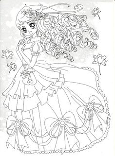 49 Best Random Anime Coloring Pages Images On Pinterest Coloring