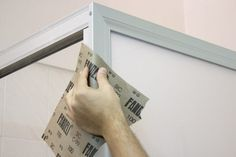 New shower doors can cost hundreds of dollars, but if you want to rejuvenate or update your existing shower door frames, they can be painted for a small fraction of the cost. Cans of aerosol spray paint are available in a wide range of colors and metallic finishes, and most spray paint that's formulated for outdoor or automotive use will be tough...