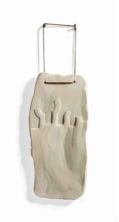 Eduardo Chillida - Porcelana XXIX, 1991, porcelain on MutualArt.com