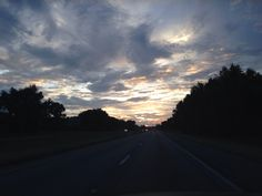 Sunset I-10 west