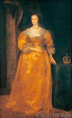 van Dyck - Henriette Maria von England / van Dyck