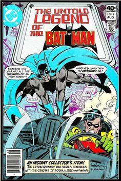 Untold Legend Of The Batman (1980)    Art by José Luís Garcia-López