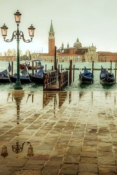 Romantic Venice, Italy ~ Truly lets you step into history.