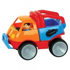 Adventure Car This smart and chunky vehicle is perfect for imaginative youngsters. Capable of travelling over a wide range of terrains, it is sure to assist with all possible adventures! Baby Mama Quotes, Baby Daddy Shirt, Baby Alive Food, Adventure Car, Bath Toys, Baby Games, Baby Store, Bold Colors, Baby Boy