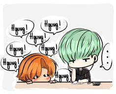 Jimin is so cute towards his Yoongi hyung >u<