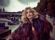 Duran Duran Girl Panic shoot, Eva Herzigova