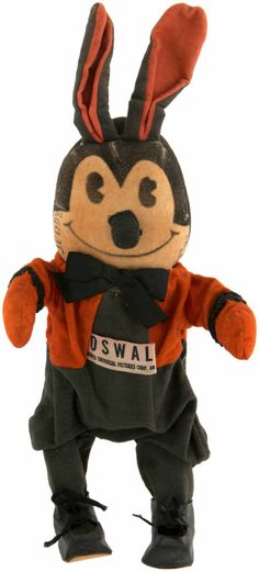 """OSWALD"""" THE LUCKY RABBIT RARE WIND-UP DOLL"""