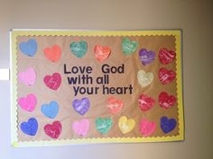 My February bulletin board