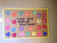 My February bulletin board