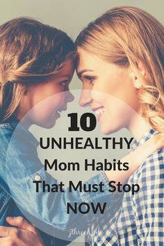 Learn About Some Unhealthy Mom Habits You Might Have (and why you may want to stop them). Anxiety, habits, health, inspirational motherhood, inspirational parenting, judgement, marriage, mom, motherhood, mothers, parenthood, parenting, self-care, unhealthy, well-being, worry