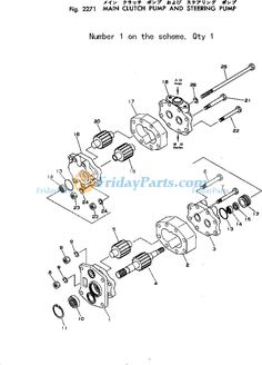 For Komatsu Wheel Loader WA470-5 WA450-5L WA480-5 WA480-5L
