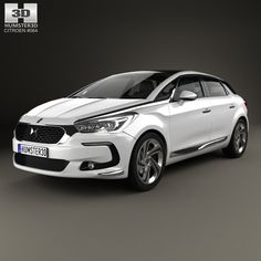 Citroen DS 5 2015 3d model from humster3d.com. Price: $75