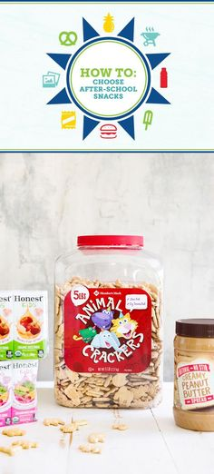Get inspired to serve up good-for-you treats for your kiddos with this guide for How To Choose After-School Snacks. We're talking Member's Mark animal crackers, Member's Mark peanut butter, and Honest Kids® juice boxes from Sam's Club! This sweet combination makes wonderful road-trip and on-the-go snack inspiration as well.