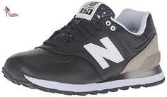 New Balance 574, Chaussures de Running Entrainement Femme, Noir (Black/Grey), 37 EU - Chaussures new balance (*Partner-Link)
