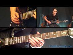 Hells Bells Guitar Lesson Pt.1 - AC/DC - All Riffs - YouTube