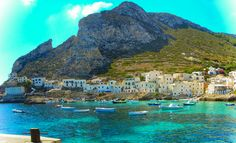 Levanzo - Isole Egadi - Italy - One picture every day - Page 225 - SkyscraperCity Marsala, 4 Day Cruises, Mountainous Terrain, Open Water, Archipelago, Beautiful Islands, Sicily, One Pic, Night Life