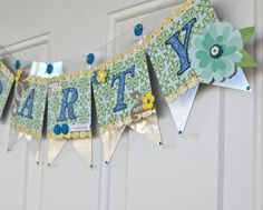 Party Banner by Pinky - Scrapbook.com