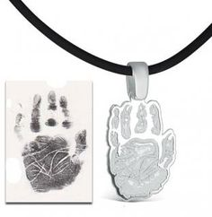KidzCanDesign Review & GIVEAWAY - Turn Your Child's Artwork or hand and footprint into Jewelry!