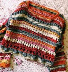 hippie style 774196992172161018 - Görüntünün olası içeriği: çizgiler Source by zmrttas Pull Crochet, Mode Crochet, Crochet Baby, Knit Crochet, Hippie Crochet, Crochet Jumpers, Hippie Style, Crochet Clothes, Diy Clothes