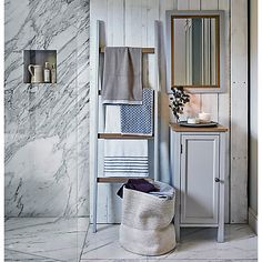 Buy John Lewis Croft Collection Blakeney Single Towel Cabinet Online at johnlewis.com