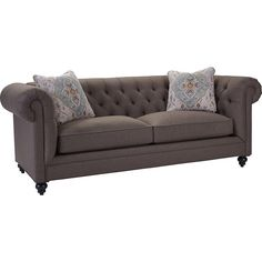 Heath Sofa - Available in fabric or leather!