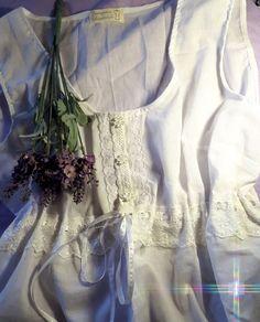 Большие размеры ручной работы. Пижама летняя, батистовая. интернет-ателье 'Petunia'. Интернет-магазин Ярмарка Мастеров. Топ