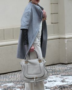 great look with a Chloé Marcie leather tote - Ohhhh Yaaaahhhh