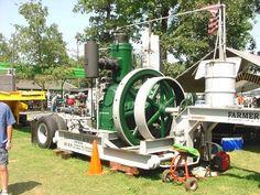 Single cylinder 50hp Fairbanks oil engine