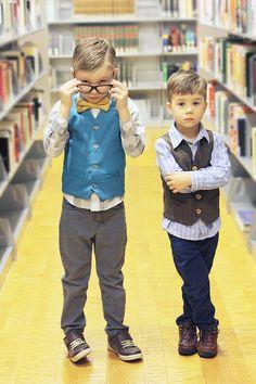 Schoolboy Vest PDF Pattern  - I'll have to make each of my Grandsons their own vest!