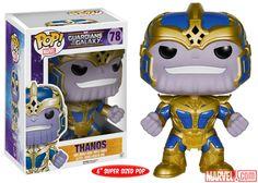 Funko Guardians of the galaxy Thanos super sized pop vinyl