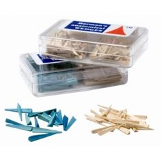 Dental Wood Wedges http://dentalofficeproducts.com/Dental-Wood-Wedges