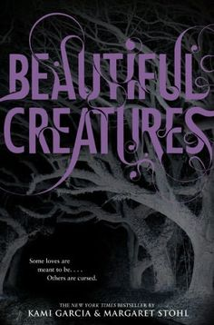Beautiful Creatures (Beautiful Creatures Series #1) by Kami Garcia and Margaret Stohl: I picked this up because it will soon be a movie and I have to read the book before I see a movie.  I was pleasantly surprised that the lead in this book is from Ethan's p.o.v. There aren't many books out there that are from the boy's perspective and I liked it. This book is very mysterious and deals with magic, tragic love, death, and ancestory. A must-read for fans of Southern gothic fiction
