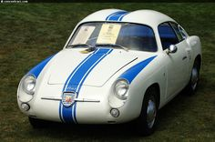 Photographs of the 1959 Abarth 750 GT Zagato. Blackhawk Collection at the Pebble Beach Concours. An image gallery of the 1959 Abarth 750 GT Zagato. Pebble Beach Concours, Fiat Abarth, Vehicles, Car, Image, Historia, Cutaway, Automobile, Rolling Stock