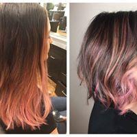 Pink Hair #salonedenofraleigh