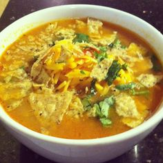 Mexican Chicken Tortilla Soup is listed (or ranked) 3 on the list Ground Round Recipes